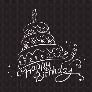 Birthday quotes happy birthday wishes png birthday black white as the quote says description bookmarktalkfo Images