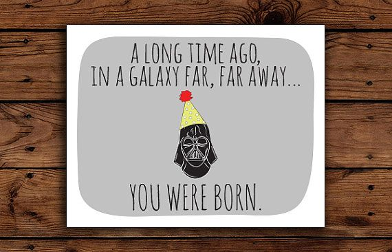 Printable Star Wars Birthday Cards Photo Album ...