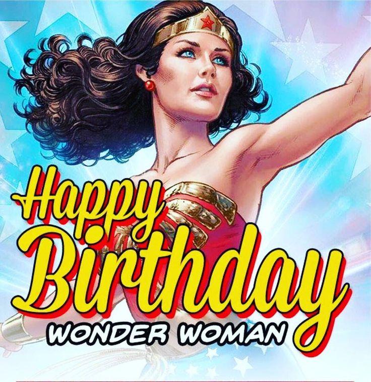Happy Birthday Wonder Woman Quotes