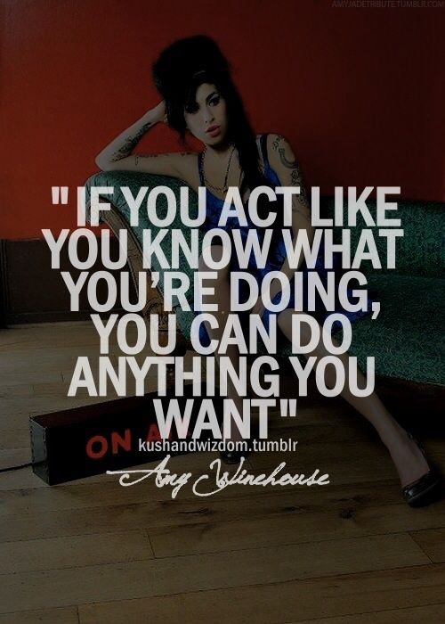 Inspirational & Positive Life Quotes : Amy Winehouse, not ...