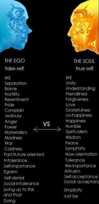 Inspirational Positive Life Quotes Ego Vs Soul Omg Quotes