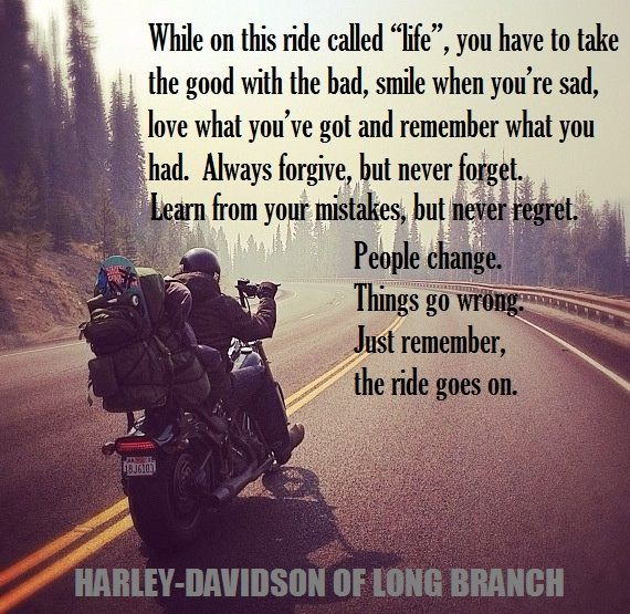 Inspirational & Positive Life Quotes : Harley-Davidson of Long ...