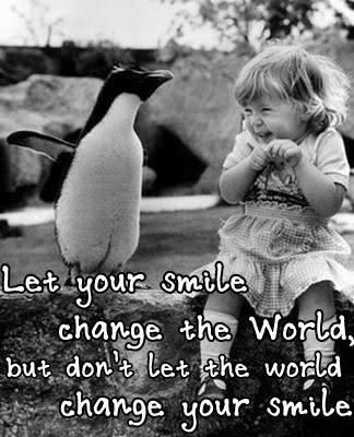Let Your Smile Change The World So Cute Omg Quotes Your