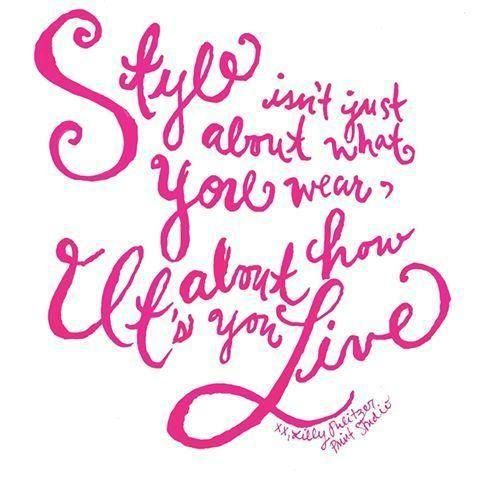 """Lilly Pulitzer Quote """"Style Isn't Just About What You Wear It's Fascinating Lilly Pulitzer Quotes"""