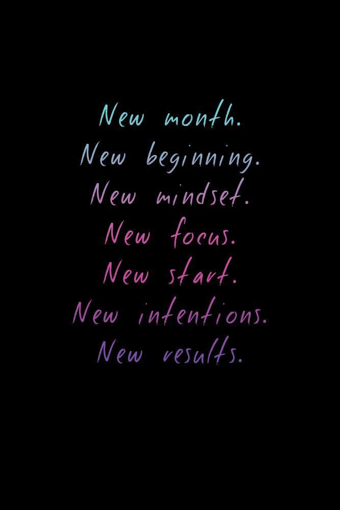 Motivational Fitness Quotes New Month New Beginning Make A