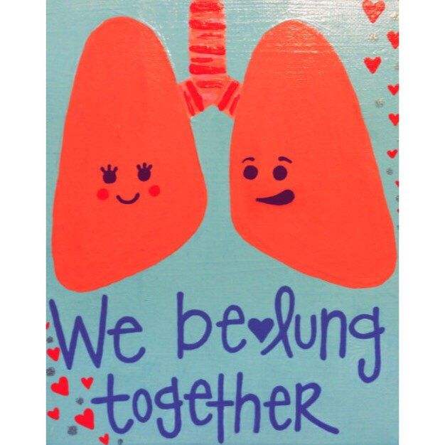 Medical Pun- We be-LUNG together :) Love & Romance by ...
