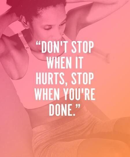 Best Health And Fitness Quotes 25 Kick Ass Fitness Quotes Stylecaster You Have To Keep Pushing Don T Ch Omg Quotes Your Daily Dose Of Motivation Positivity Quotes Sayings