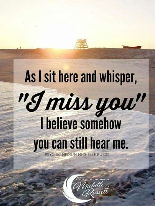 i am really missing you