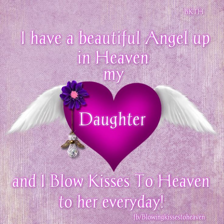 Missing Quotes : Missing My Daughter in Heaven – OMG Quotes ...