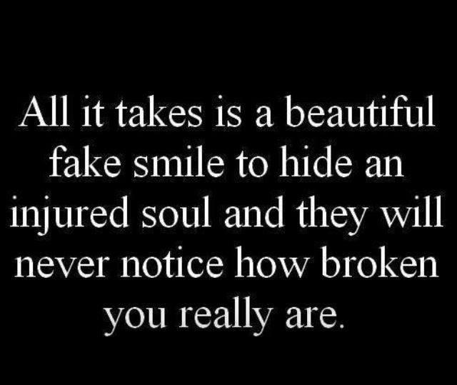 Missing You Quotes : Fake smile – OMG Quotes | Your daily ...