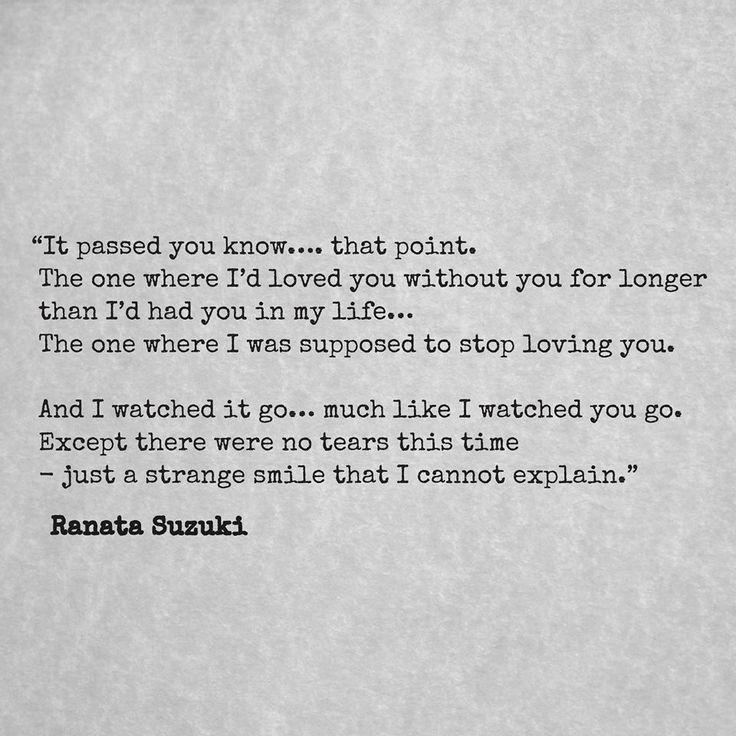 """Missing You Quotes : """"It passed you know, that point. The ..."""