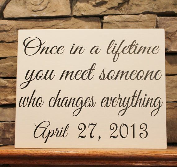 Wedding Gift Quotes Sayings: Quote About Wedding : Custom Wood Signs Make The Perfect