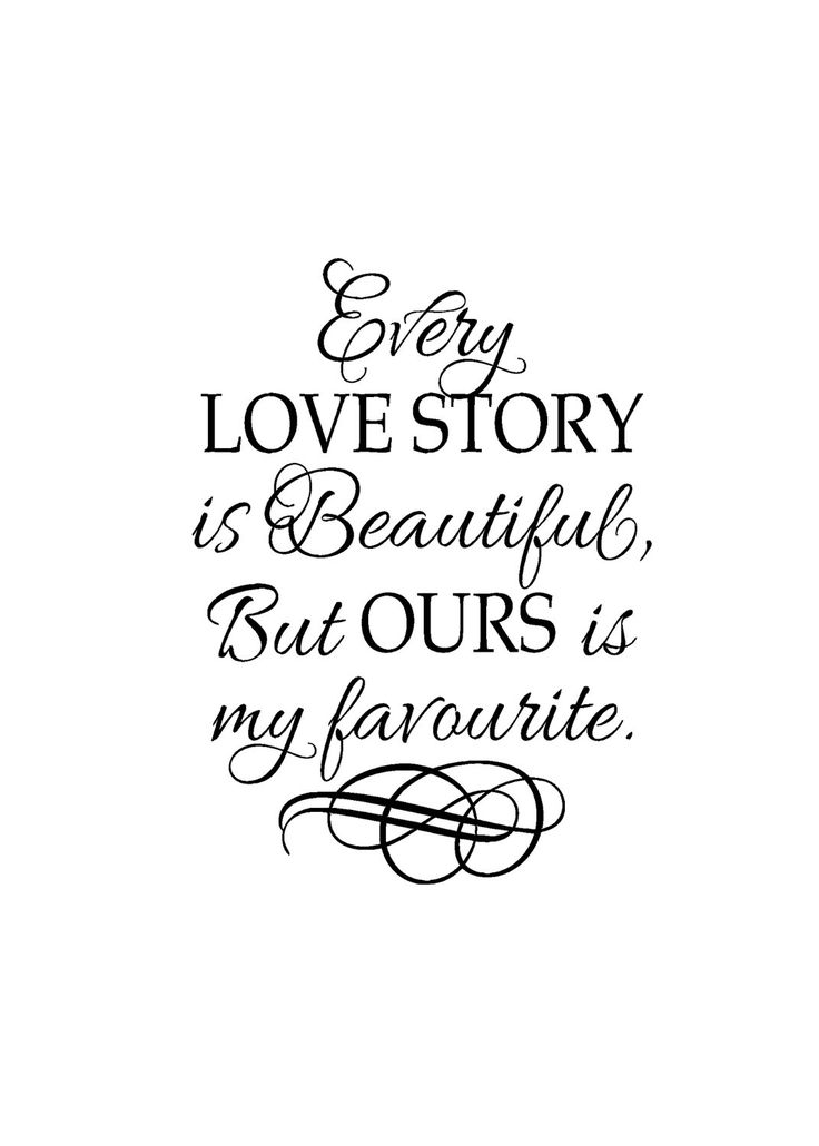 Quote About Wedding : Romantic Sayings Vinyl – Vinyl wall ...