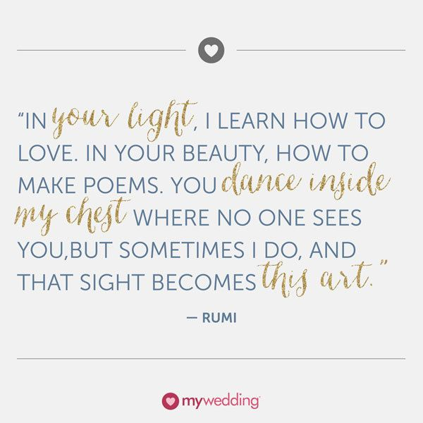 Quote About Wedding Rumi Quote On Love And Relationships Omg