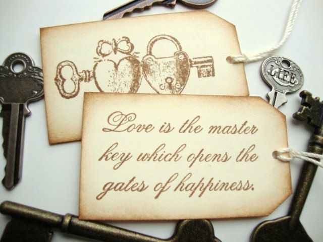 Quote About Wedding : Wedding Quotes : Wedding Favor Tags ...  Vintage Wedding Quotes