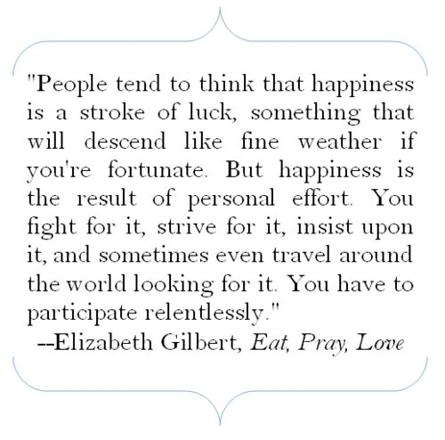 "Eat Pray Love Quotes Classy Wisdom Quotes Elizabeth Gilbert Author Of ""Eat Pray Love"