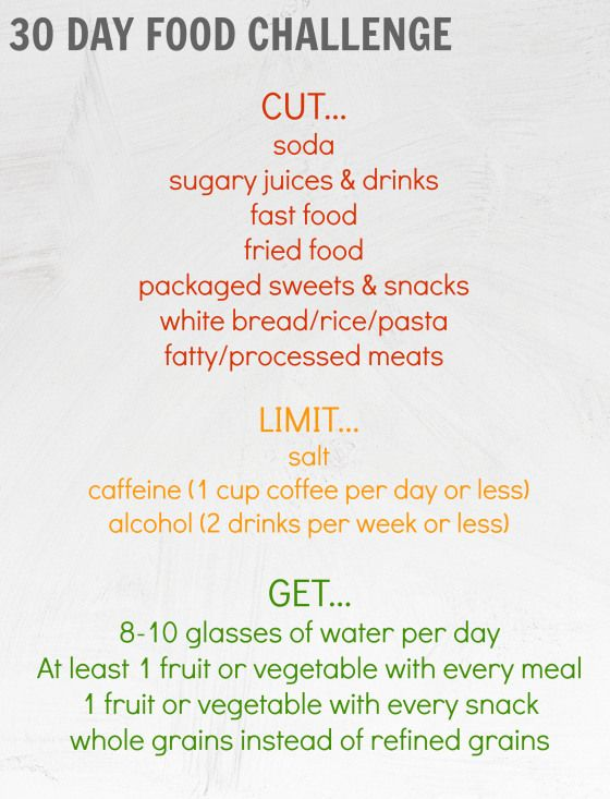 Best Health and Fitness Quotes : 30 Day Food Challenge – kickstart ...