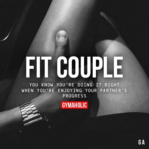 Best Health And Fitness Quotes Fit Couple You Know You Re Doing It Right When You Re Enjoying Your Partner S P Omg Quotes Your Daily Dose Of Motivation Positivity Quotes