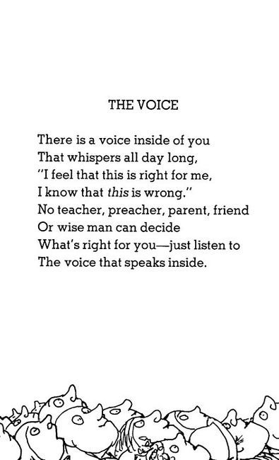 Life Quotes And Words To Live By : Shel Silverstein – OMG Quotes ...