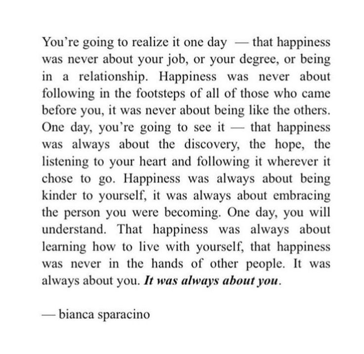 missing quotes my happiness is not determined on what you think