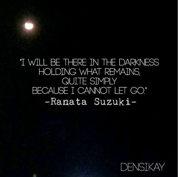 """Missing You Quotes : """"I will be there in the darkness ..."""