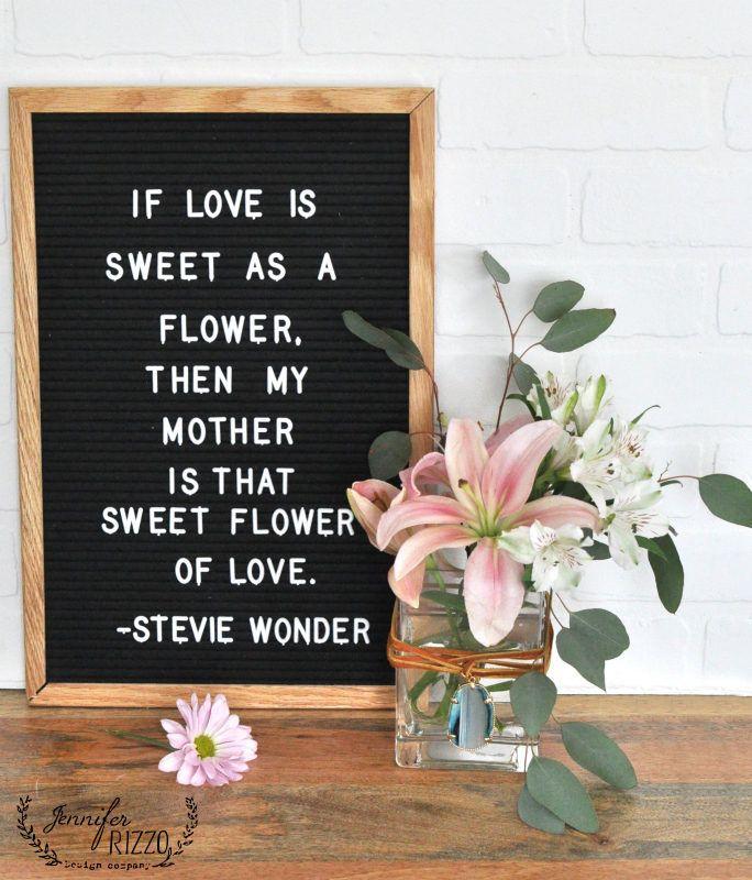 Mothers Day Quotes Mothers Day Boho Embellished Vase Jennifer