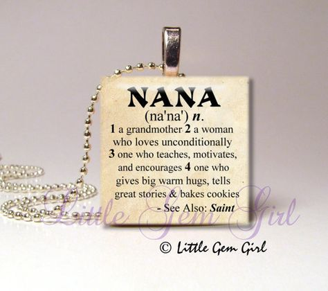 Mothers day quotes nana necklace pendant dictionary definition as the quote says description nana necklace pendant dictionary aloadofball Choice Image