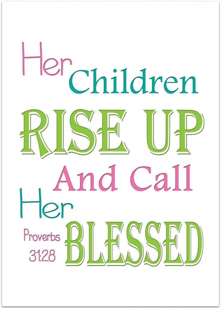 Proverbs 31  Quotes | Mother S Day Quotes Wednesday Word Blessed Proverbs 31 Mother S