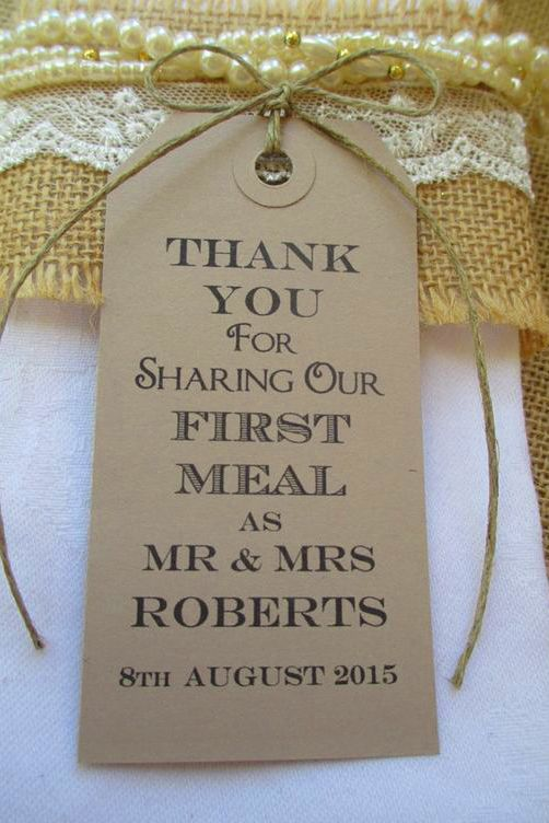 Heart-Warming Wedding Thank You Ideas ❤ See more: www ...