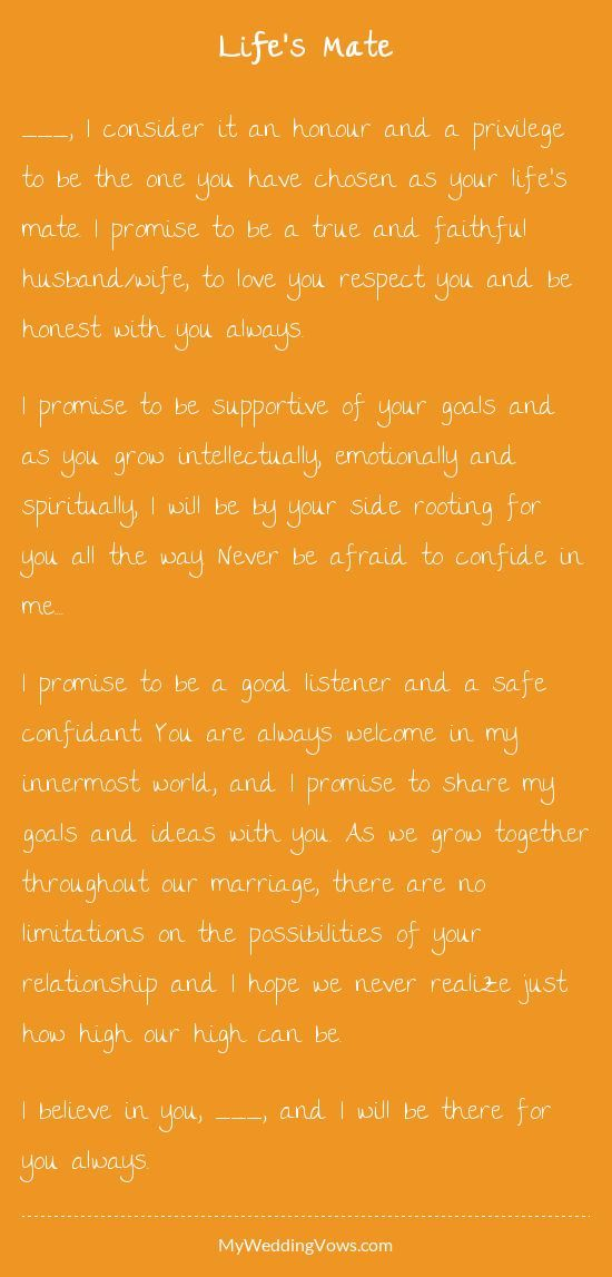 quote about wedding this hearted by myweddingvows com