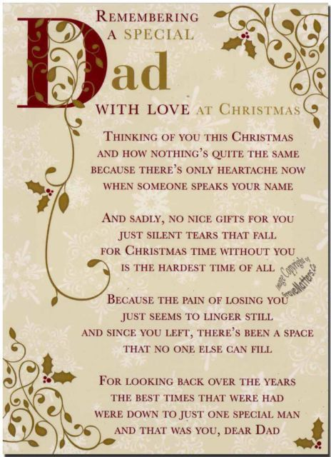 Missing Quotes : Remembering Dad At Christmas miss you ...