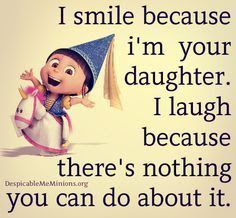 Mothers Day Quotes I Smile Because Im Your Daughter