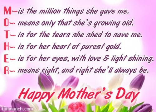 Mother's Day Quotes : Mothers day Best Greetings Messages – OMG