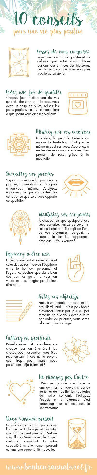 Positive Quotes 10 Conseils Pour Une Vie Plus Positive Omg