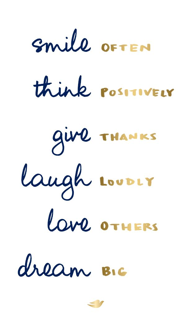 positive quotes how to create your own happiness smile to