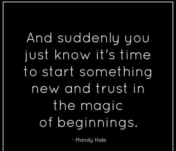 Beginnings quotes for new relationship Best New