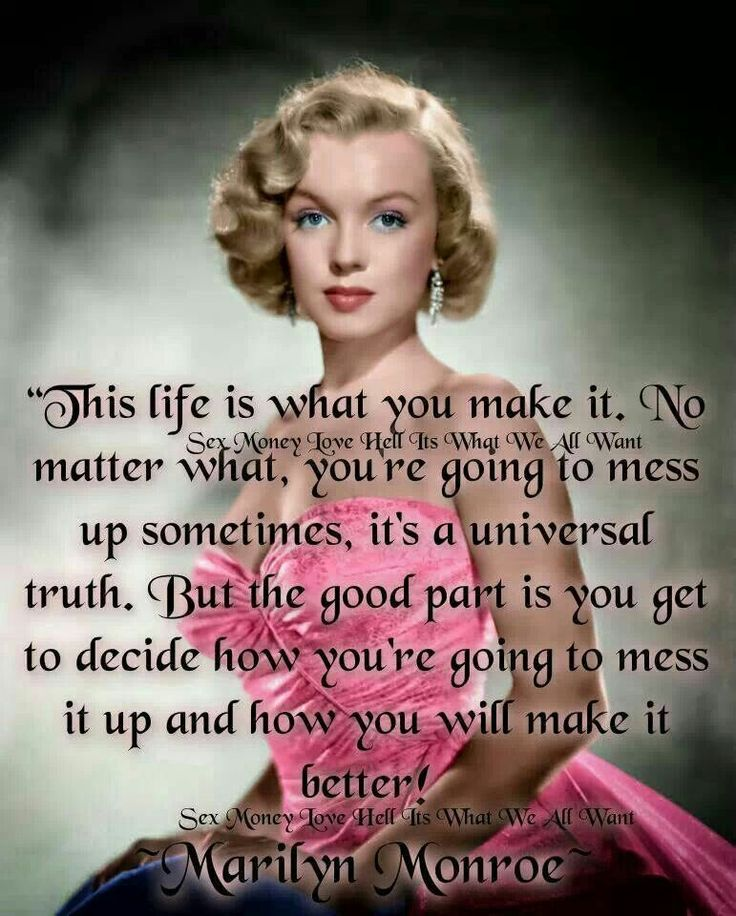 Celebrity Quotes Marilyn Monroe Quote Omg Quotes Your Daily