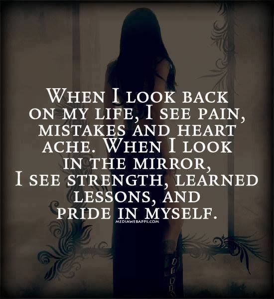 Life Quotes & Inspiration : When I look in the mirror I see ...