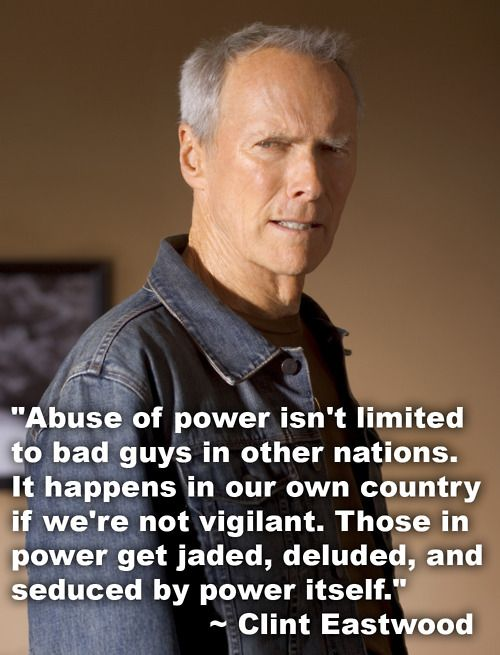 Celebrity Quotes : Clint Eastwood quote – OMG Quotes | Your ...