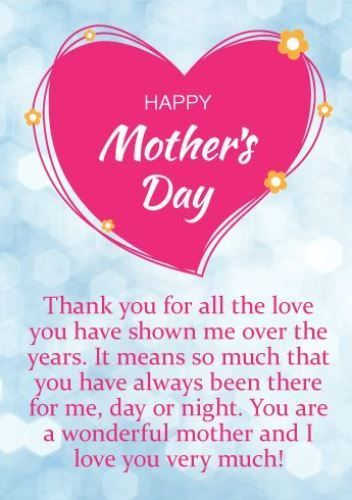 Mothers Day Quotes : Happy Mothers Day Wishes To My Mothers 2017, Mothers  Day Greetings Images for Facebook to Teachers & Friends – OMG Quotes | Your  daily dose of Motivation &